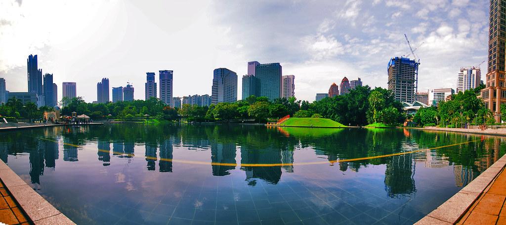 cuti-cuti malaysia | klcc park | ramadhan 1431