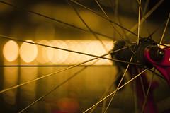 Slow Your Roll (JustinJensen) Tags: street light lamp bike bicycle wheel boston night hub slow ride bokeh spoke tire your fisher roll gary 24 beantown thepinnaclehof kanchenjungachallengewinner thepinnacleblog tphofweek68