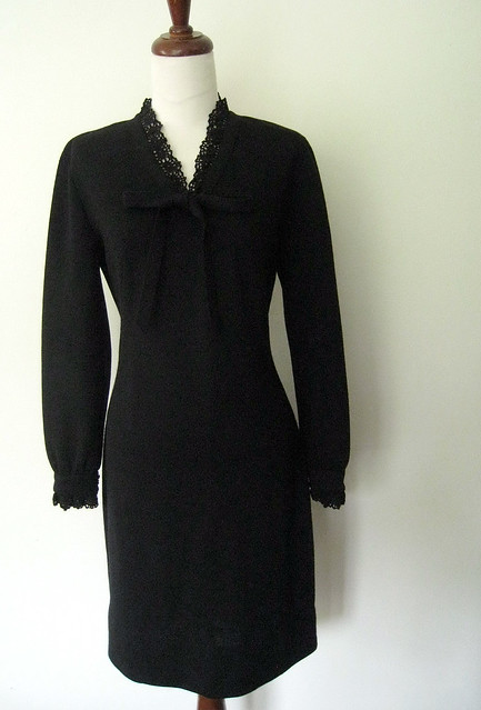Vintage Jonathan Logan Wool Sweater Dress