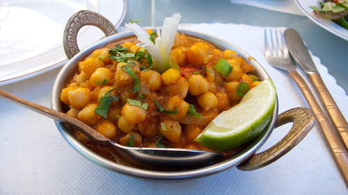 Chana Pindi at Yeti Restaurant