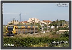 CP 3416 | Granja | 15919/8 | 26.09.2010 (Joao Joaquim) Tags: urbano cp ume bombardier automotora 3400 passageiros 3416 cpporto