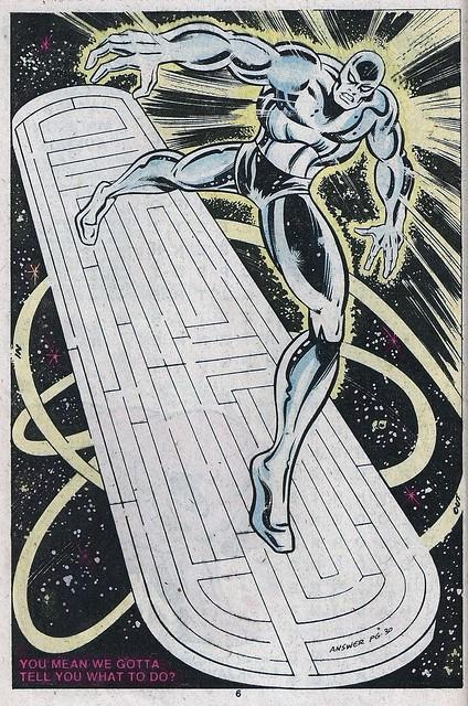 Silver Surfer Maze