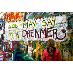 But I'm not the only one. (AnaBanana03) Tags: lyrics song quotes imagine johnlennon dreamer thebeatles