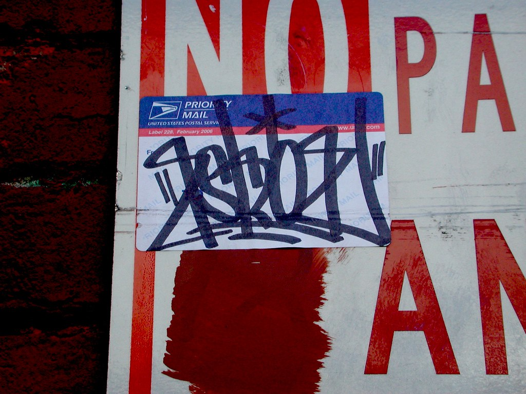 ESKOE, ESKO, PI, Graffiti, Stricker, Street Art, Berkeley