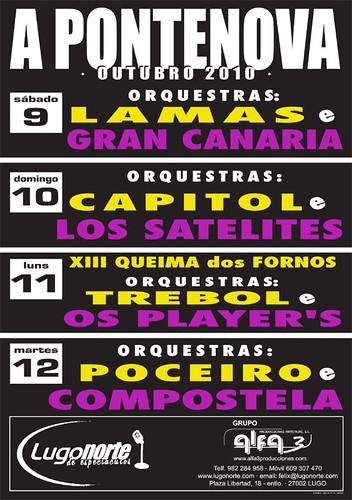 A Pontenova 2010 - cartel
