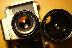 Zeiss brothers (elkarrde) Tags: 6x6 50mm pentax f14 flektogon pentacon twop cameraporn pentaconsix carlzeiss biometar fa50 psix carlzeissjenaddr smcpentaxfa50mmf14 pentaxk100dsuper