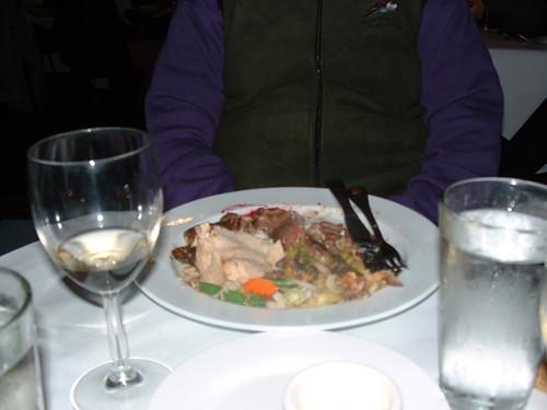 Christmas dinner in Carmel
