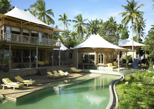Soneva Kiri - Beach Villa Exterior by Refined Resort