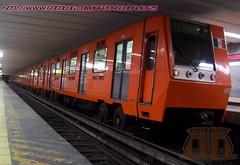 La linea 1 (infecktedmetromx) Tags: subway mexico df l1 metro stc ciudaddemexico cddemexico concarril stcmetro metrodelaciudaddemexico nm83 nm83b