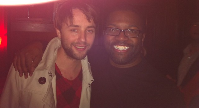 Me with Vincent Kartheiser (aka Pete Campbell of Mad Men)
