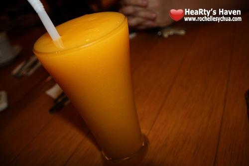 mango slush cafe breton