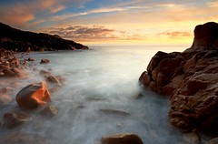 Colourful Cornwall (Tony Armstrong-Sly) Tags: autumn light sunset sea england sky seascape colour beach nature water clouds landscape rocks cornwall surf cove shore mywinners