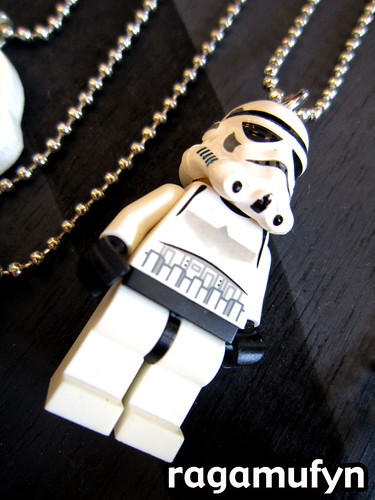 lego star wars minifig necklace