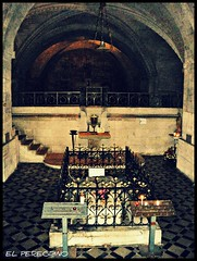 Abbazia di St. Gilles (El Peregrino) Tags: france iglesia chiesa sarcophagus provence francia crypt eglise gard cripta provenza abbaye sarcofago churc camminodisantiago chemindesaintjacques saintgillesdugard gr653 abbaziadisaintgilles