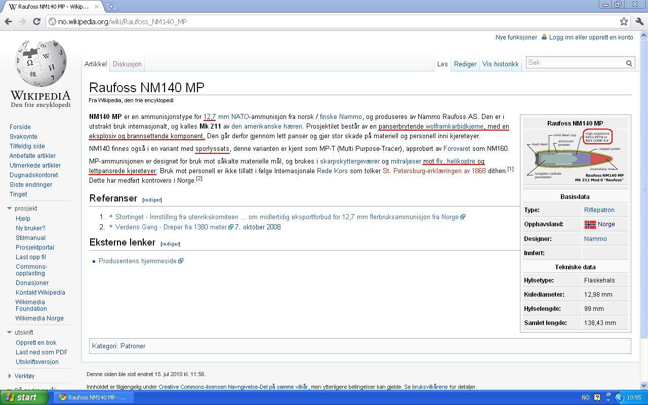 raufoss wiki norsk