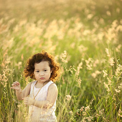_NSY5209 (Nasey) Tags: flowers portrait people girl field grass backlight square kid