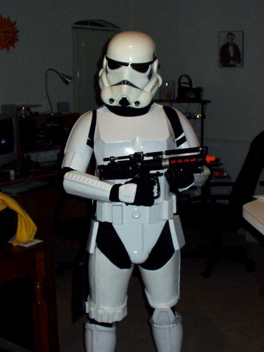 Stormtrooper Test Fit