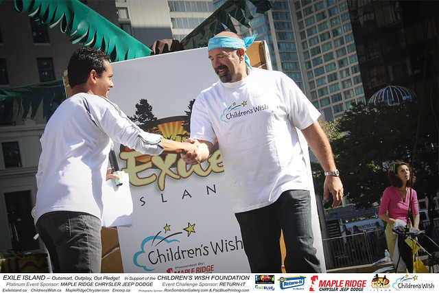 EXILE ISLAND-Childrens Wish Foundation-MapleRidge Chrysler-Return It-photos by RonSombilonGallery and PacBlue Priting (685) by Ron Sombilon Gallery