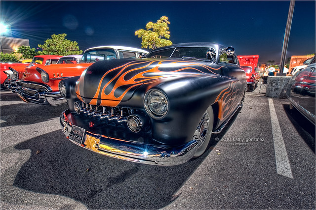 flaming custom