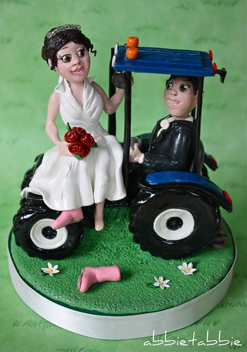 Tractor Wedding Cake Topper ...... - a photo on Flickriver