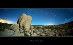 Starry Desert Night (cloudbi) Tags: california camp nat