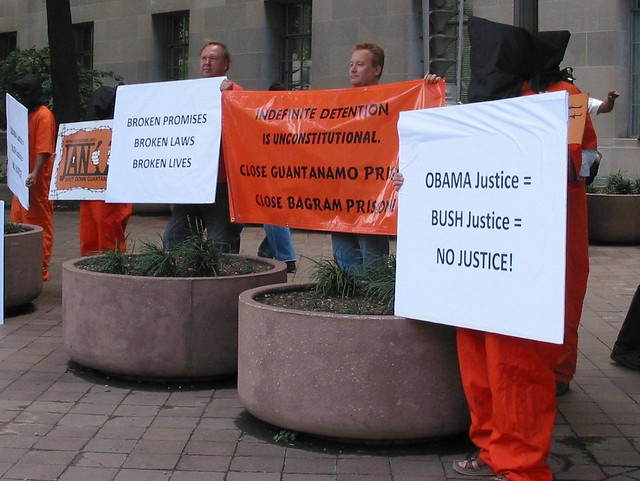 DOJ Picket 10-1-10