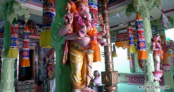 Ganesh - the Indian deity with the elephant head