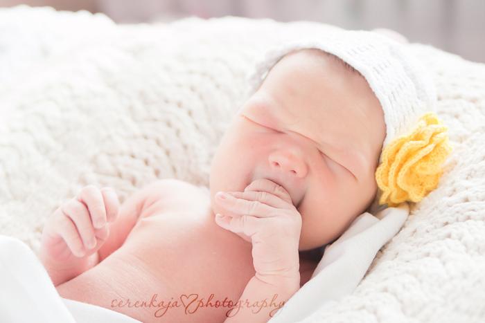 Фотографирование новорожденных. Варя, 8 дней