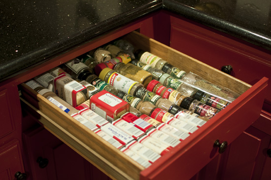 spice drawer small