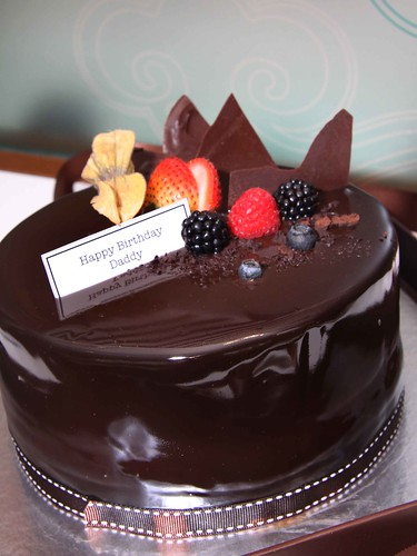 Truffs' chocolate cake
