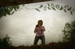 in mezzo alla natura (francesca66 - Francesca Degli Angeli) Tags: italy selfportrait mirror io specchio ranchio2010campagnapaese