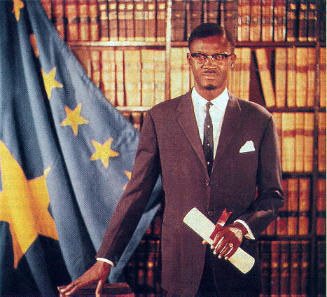 Congolese Prime Minister Patrice Lumumba in 1960. Lumumba was the elected representative of the people who was overthrown and murdered by the imperialists and their stooges. by Pan-African News Wire File Photos