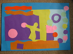 matisse collage - rafe