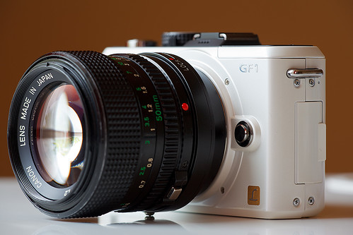 Canon nFD 50mm 1:1.2