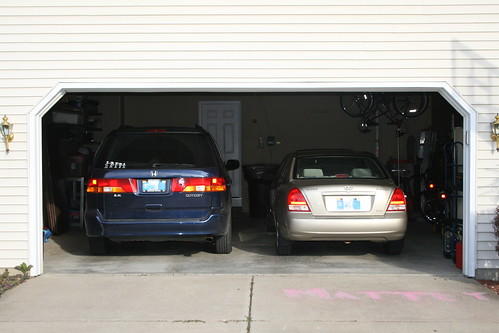 2 Cars in the Garage