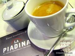 La Piadina Italian Restaurant in Glorietta 4, Makati