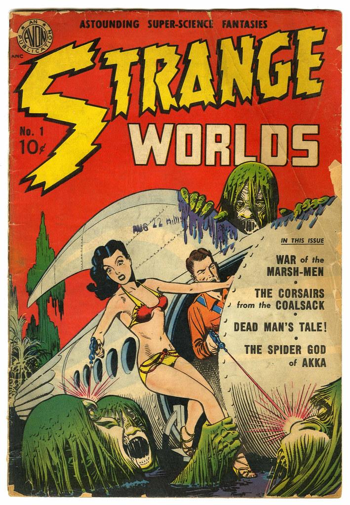 Strange Worlds #1 (Avon)