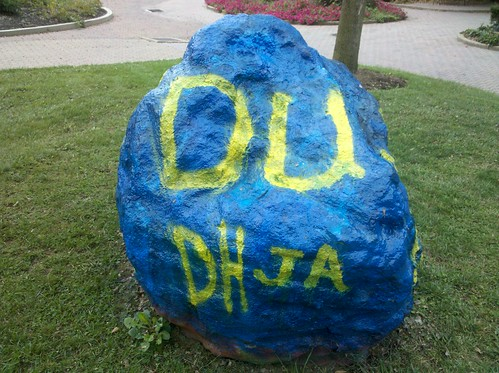 Delta Upsilon New Member Rock