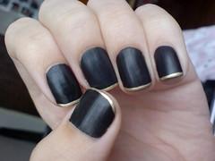 Francesinha Preto + Dourado (Tassi_) Tags: black eliana vibrancy colorama francesinha superperola