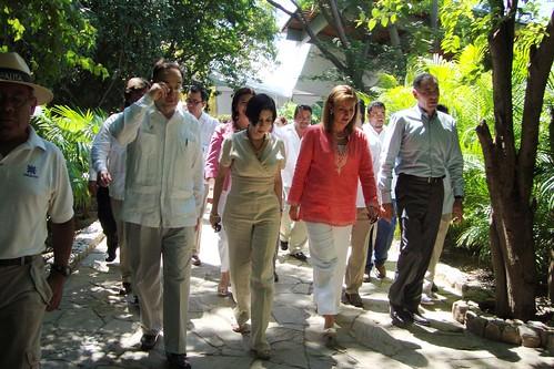Gabino Cué, Inauguración del Parque Eco-Arqueológico Copalita, Huatulco