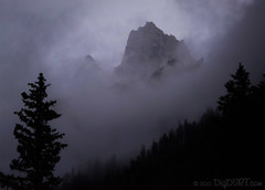 Mountain in Cloud (4Durt) Tags: nationalpark wyoming grandteton cascadecanyon