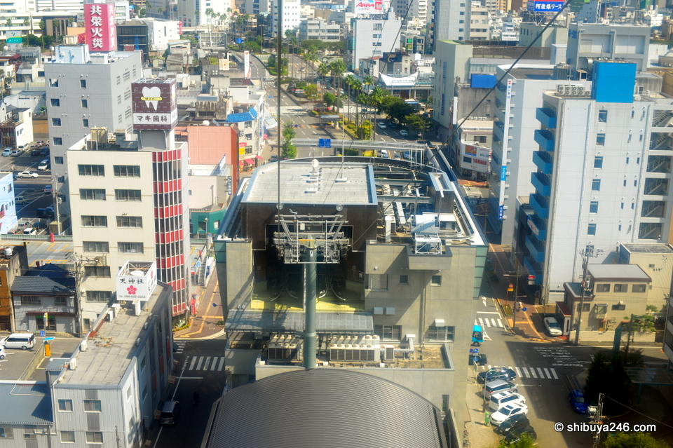 I have not been up in a cable car for a while. The start was a bit shaky, but it soon was smooth sailing
