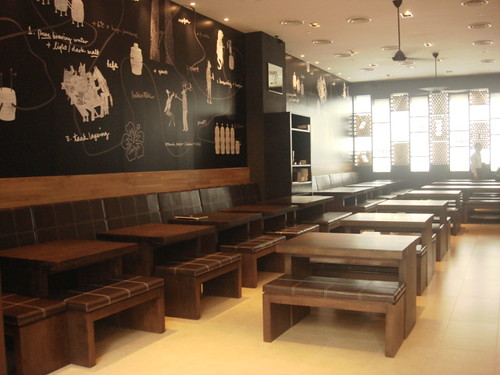 Brotzeit Mid valley - interior