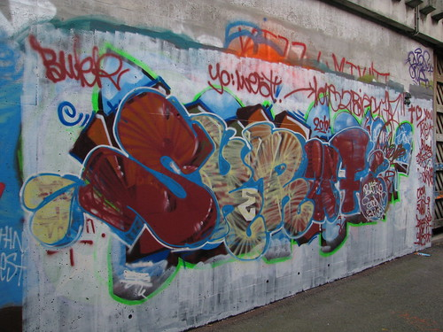 The legal graffiti wall at Ruten