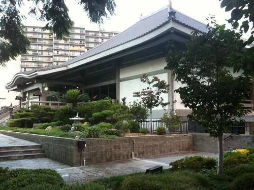 A Japanese temple, LA
