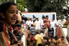 There's mama! (Kazarelth) Tags: india kolkata bengal calcutta westbengal princepghat mahalaya