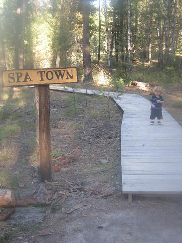 spa town