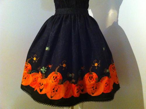 Halloween pumpkins skirt for Jill