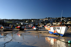 St Ives fleet (varuca) Tags: boats cornwall harbour stives swcp buoyant