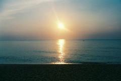 Sunrise : Tanjung Jara (Mandy ML Chen) Tags: sunset film sunrise nikonfm2 nikonfa kualaterengganu sigma24mm tanjungjara
